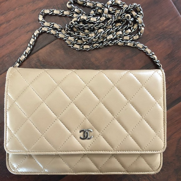 8cf33839f52f CHANEL Handbags - Authentic chanel wallet on chain